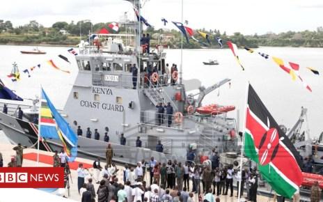 104397404 kenya - Kenya launches 'one-boat' coastguard