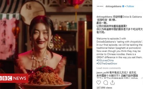 104429262 82b0557d 24a5 49e4 9813 3a060f80a99b - D&G apologise over Instagram 'hacks' amid racism accusations