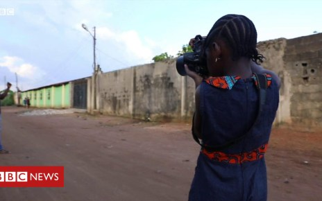 104445803 p06sjy61 - Nigerian seven-year-old photographer on mastering the camera