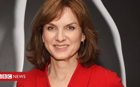 104453569 fionabrucebbc - Fiona Bruce 'in talks over taking Question Time job'