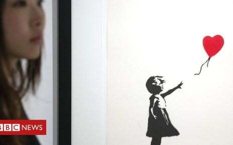 104473060 mediaitem104473059 - Banksy art works seized in Belgium over lack of insurance