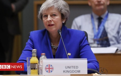 104485327 hi050805609 - Brexit: Back my deal or risk more division, May tells MPs