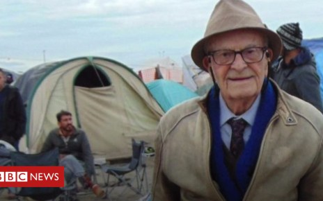 104522300 p06t1grj - 'World's oldest rebel' Harry Leslie Smith dies