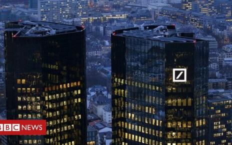104536403 deutsche.bank.towers.r - Deutsche Bank headquarters raided over money laundering