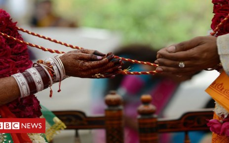 104555853 wedding getty - Indian woman arrested for marrying '17-year-old'