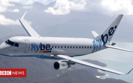 97957535 flybe175 - Flybe loss 'would be catastrophic' for Cardiff Airport