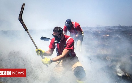 102881948 winterhill pa - Moorland fires had 'shocking air quality impact'