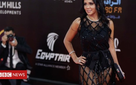 104581480 mediaitem104581479 - Egyptian actress Rania Youssef charged over revealing dress