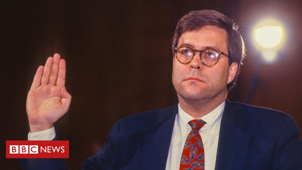 104681195 barr 976alamy - William Barr nominated by Donald Trump to be US attorney general