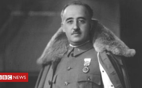104682875 p06tx80d - Why Spain's government is exhuming General Franco's remains