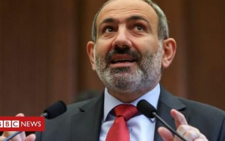 104703925 pashinyan - Armenia leader Nikol Pashinyan holds test snap election