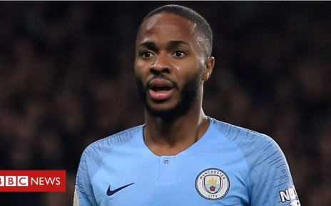 104743027 p06v9q8l - Raheem Sterling row: Is there a racial 'double standard'?