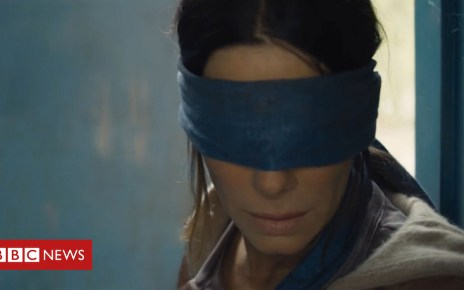 104806391 bullock blindfold netflix - 'My sleepless nights over Sandra Bullock's blindfold'