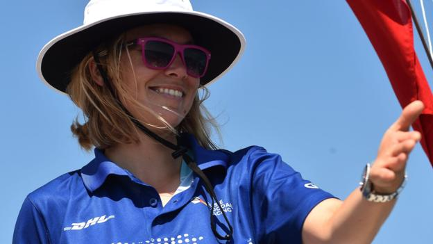104823159 goodall getty - Susie Goodall: British sailor would attempt Golden Globe Race again 'in a heartbeat'