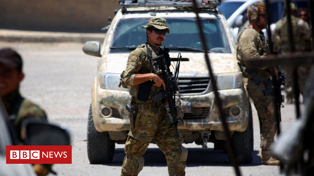 104886944 gettyimages 803243196 - Syria conflict: Trump's withdrawal plan shocks allies