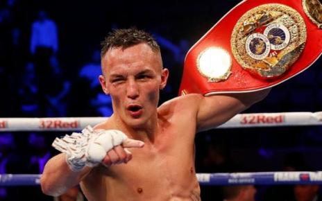 104926624 josh reuters - Josh Warrington beats Carl Frampton to retain IBF world featherweight title