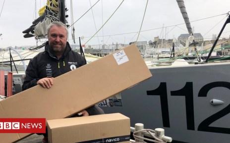 104980697 alex - Sailor restarts crowd-funded 'Pixel' round-the-world record bid