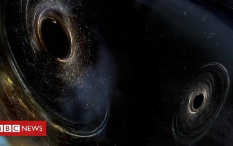 96302682 page - Gravitational waves: Monster black hole merger detected