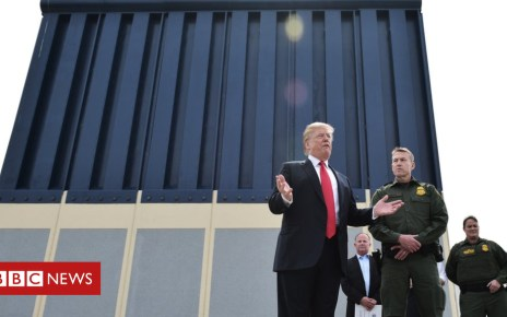 101825859 wallgettyimages 931608606 - Art of the Deal: How Trump's own book explains his battle for the border wall