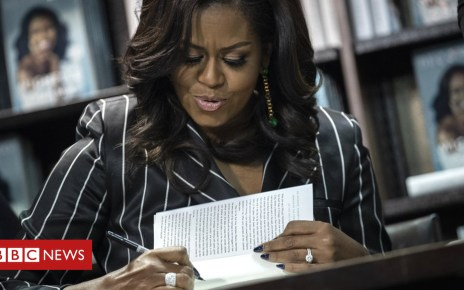104573710 hi050907810 - Michelle Obama's book 'most valuable' of 2018