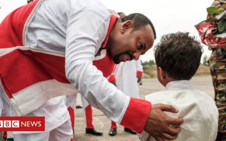 105037618 abiy2 - Ethiopia's Abiy Ahmed: The leader promising to heal a nation