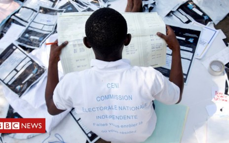 105049025 drcreuters - DR Congo election: Government blocks 'pro-opposition TV'