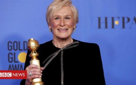 105084205 crop close gett - In full: Glenn Close's Golden Globes speech