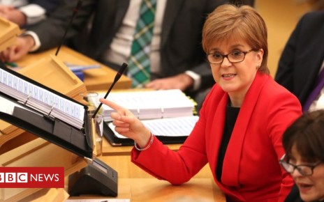 105088633 tv051165433 - Sturgeon: MPs have 'duty to decide' on new Brexit plan