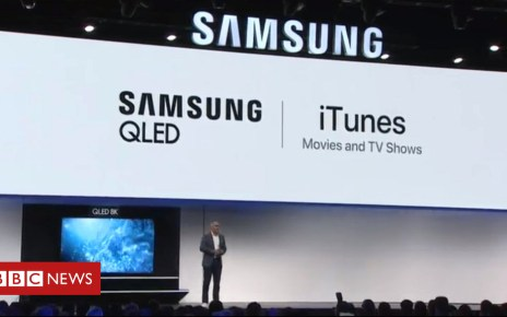 105095943 sams1 - CES 2019: Samsung adds rival Apple's iTunes to smart TVs
