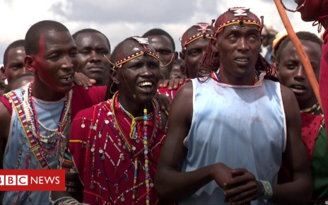 105151889 p06xvlkn - The Maasai 'Olympics' helping to save lions' lives