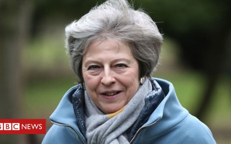 105169195 maypa - Theresa May speech Welsh devolution claims 'hypocritical'