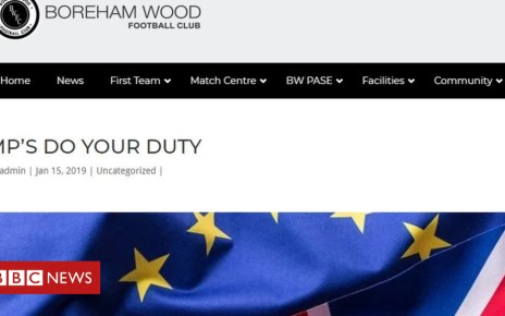105193462 c053059d d813 49ac 8083 edf82b874cac - Boreham Wood FC's 'weird' 1,400-word Brexit post