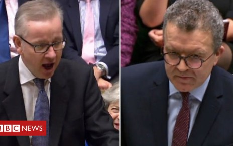 105212255 p06y8mp8 - No confidence motion: Gove and Watson ahead of vote