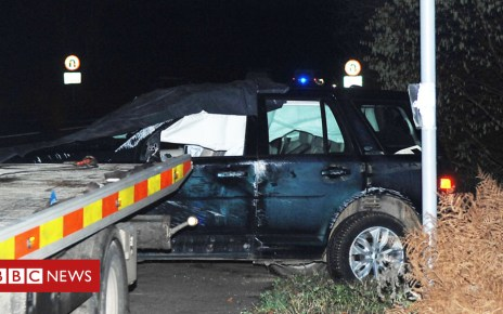 105232616 carpic archant - Prince Philip seen behind the wheel two days after crash