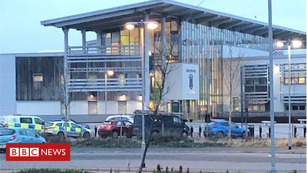 105242360 school - Pupils in hospital after 'drug-related' incident at Dunfermline High School