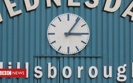 105331219 hillsborough clock pa - Hillsborough trial: Pitch was 'like a battleground'