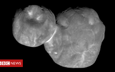 105337400 image1 - Nasa's New Horizons: Best image yet of 'space snowman' Ultima Thule