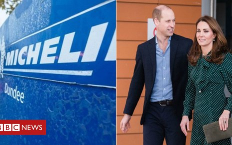 105378174 michelincollage - William and Kate to meet Michelin workers in Dundee