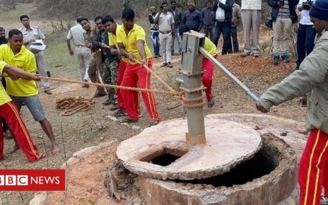 105395248 well - India 'witch hunters' kill mother and four children