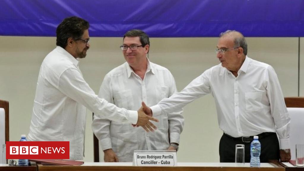 90917047 80c82754 c2c6 427e 9dfd dc771efe54be - Colombia: Missing Farc leader Iván Márquez re-appears on video