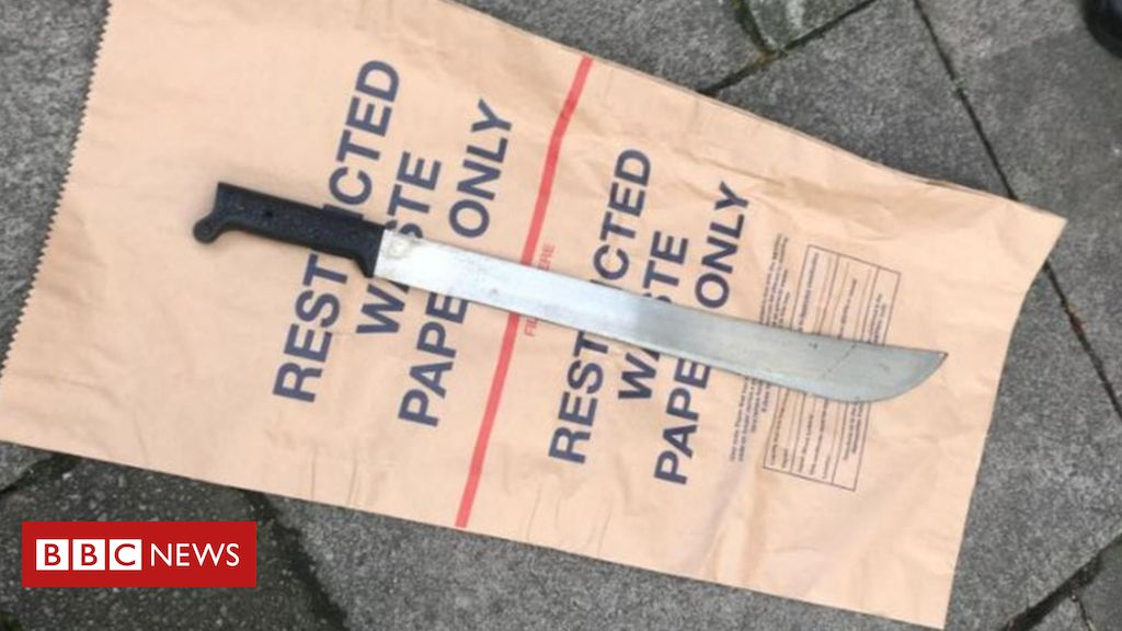 104436446 knife - London violence: Knife offenders to be tagged on release from prison