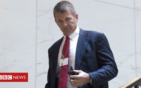 105435339 erik - Xinjiang: Ex-Blackwater chief's security firm linked to China training centre