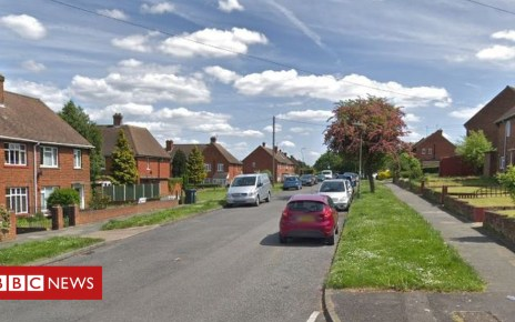105463242 keyesroad - Three taken to hospital after Dartford 'noxious substance' attack