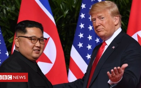 105496508 cd42d889 67a6 4901 9d32 99ed3e0fae16 - North Korea nuclear talks: Key challenges at Trump-Kim summit