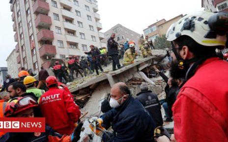 105509504 mediaitem105509502 - Istanbul apartment block collapse shocks Turkey