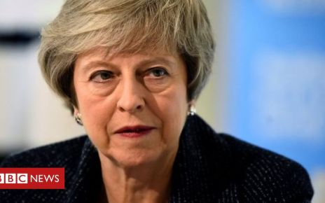 105533331 c06ae29a 3415 488e 9fd7 942a085f4f4f - Brexit: UK will not be 'trapped' in backstop, May to tell EU