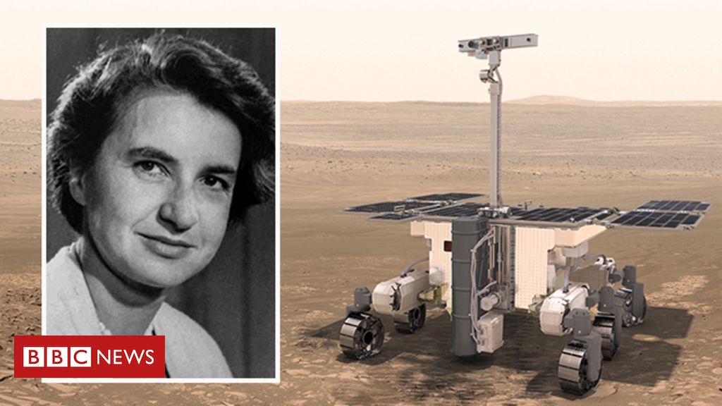 105542068 colourcomposite - Rosalind Franklin: Mars rover named after DNA pioneer