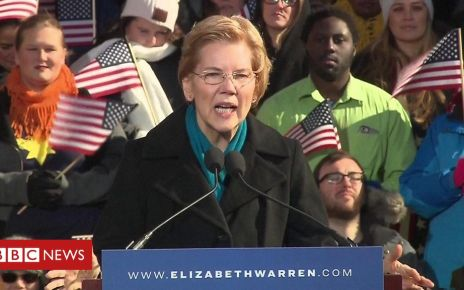 105587234 p070ggf2 - Elizabeth Warren launches presidential bid