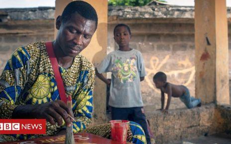 105604023 louis976 - How a street painter from Benin got an art exhibition in Finland