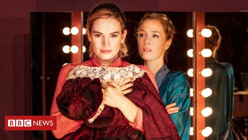 105627872 attachmen - Lily James in All About Eve: No more Goody One-Shoe